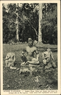 Cp Kambodscha, Angkor Thom, Statue Qui Donne Son Nom A La Terrasse Dite Du Roi Lepreux, Civa Ascet - China