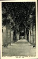 Cp Kambodscha, Angkor Vath, Galerie Centrale Du Cloitre Cruciforme Du 1er Etage - China