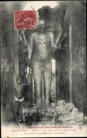 Cp Kambodscha, Angkor Wat, Boudha A Huit Bras, Sous La Galerie Droite De La Porte Monumentale - China