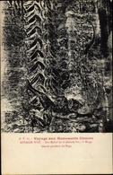 Cp Kambodscha, Angkor Wat, Bas Relief De La Galerie Est, 1er Etage, Geants Porteurs Du Naga - China