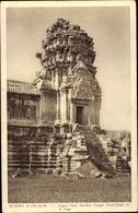 Cp Kambodscha, Angkor Vath, Pavillon D'angle Nord Ouest Du 2e Etage - China