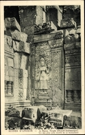 Cp Kambodscha, Angkor, Le Bayon, Tevada, Divinite Brahmanique - China