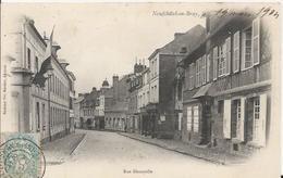 Carte Postale Ancienne De Neufchatel En Bray La Rue Denoyelle - Neufchâtel En Bray