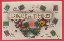 Langage Des Timbres ( Voir Verso ) - Timbres (représentations)