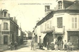 18  SAINT MARTIN D' AUXIGNY - LA GRANDE RUE (ref 3843) - Frankreich