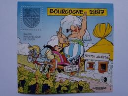 FRANCE BLOC CNEP N° 8  BOURGOGNE 1987 ASTERIX -OBELIX BD - BANDE DESSINEE ALESIA Sans Charnière - CNEP