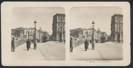 °°° Fotografia Diapositiva 1905 Roma Ponte Garibaldi  °°° - Diapositive