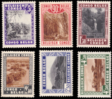 Congo 0197/202** Parcs Nationaux - Congo Belge