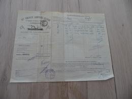 Connaissement Ilustré Det Forenede Dampskibs Selskab Copenhague Bordeaux Vers Saint Pétersbourg 1909 Olives - Transports