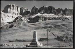 DOLOMITI - PASSO PORDOI - TIMBRI PASSO PORDOI/ALBERGO FALZAREGO/RIFUGIO FLORA - FORMATO PICCOLO - Alpinisme