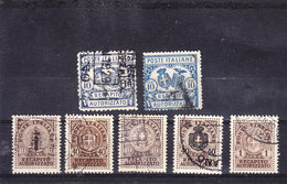 1928 1945  RECAPITO AUTORIZZATO Serie Completa  USATO - 1900-44 Vittorio Emanuele III