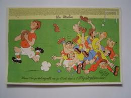 PUBLICITE DOCTEUR / LABORATOIRES FRAYSSE / DUBOUT / HOPITAL / MEDECINE / RUGBY Vers 1955 - Publicités