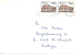 CROATIE. N°195 De 1993 Sur Enveloppe Ayant Circulé. Karlovac. - Croatia