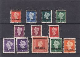 Pays Bas - Indes Néerlandaise - Yvert 332 / 42 ** + 1g Cadeau - Valeur 350 Euros- - Nederlands-Indië