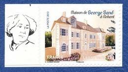 FRANCE Nohant, Maison De George Sand Neuf**. - Ecrivains