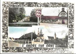 Calvados ST ANDRE SUR ORNE Multi Vues  Csm - France