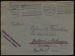 S5560 DR Feldpost Briefumschlag , Luftwaffen Baukompanie Kommando Lechfeld: Gebraucht Feldpost - FP Nr. 13866 - Böckin - Deutschland