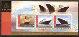 Île De Man  2008 Yvertnr. Bloc 69 *** MNH Cote 14 Euro Bateaux Boten Ships - Man (Insel)