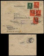 P0209 - DR Rumänien Waffen SS Feldpost R - Briefumschlag Mit Zensuren , AS , 1944: Gebraucht Kronstadt Brasov - SS Obe - Deutschland