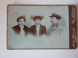 """Ritratto Di Famiglia - Atelier HANVIE Photographie Artistiques Places S.te Catherine ALEXANDRIE Egypt"" 1890 - Anonymous Persons"