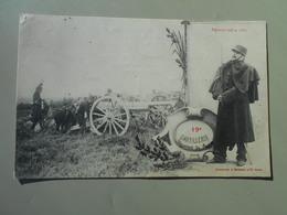 MILITARIA 19e D'ARTILLERIE REGIMENT CREE EN 1860 - Regiments