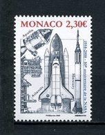 MONACO 2008 N° 2619 ** Neuf MNH Superbe C 6.90 € Navette Spatiale Atlantis Espace Space NASA Fusée Mercury Apollo - Monaco