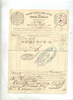 Facture Magasin De Fer Sestier Lyon 1859 - France