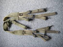 Bretelles De Suspension US WW2 Daté 1945 - Equipment