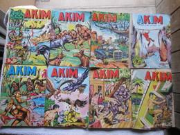 Lot De 8 Bd De ( Akim ) - Autre Magazines