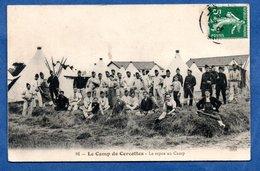 Camp De Cercottes  -  Le Repos Au Camp - Francia