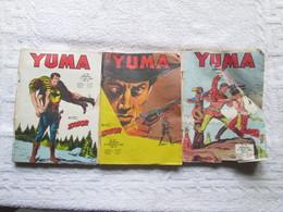 Lot De 3 Bd De ( Yuma ) - Livres, BD, Revues