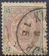 DANEMARK ! Timbre Ancien De 1875 N°22B - 1864-04 (Christian IX)