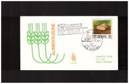 """SAN MARINO - 23 10 1981 FDC ED VENETIA """" ALIMENTAZIONE """" - FDC"""