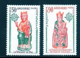 Andorre / EUROPA N° 237 Et 238 Neufs * - French Andorra