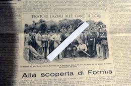IL TIRO A VOLO GIORNALE FED. TIRO CON ARMI DA CACCIA N° 31 DEL 5 AGOSTO 1931 (CORI, CAMIGLIATI SILA, FORMIA, RICCIONE) - Sport