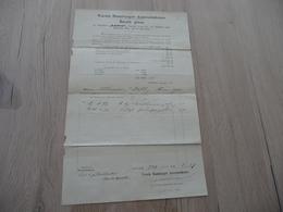 Connaissement 1874 Verein Hamburger  Assecuradeure Havarie Grosse Dampfboot Lucien Sardinen Sardines - Transports