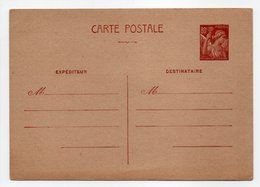 - FRANCE - Entier Postal N° 431-CP1 Neuf - Type IRIS 1940-1944 - Cote 8 EUR - - Postal Stamped Stationery