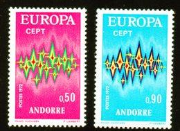 Andorre / EUROPA N° 226 Et 227 Neufs * - French Andorra