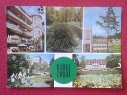 POSTAL POST CARD CARTE POSTALE POLSKA ? POLONIA ? POLAND ? WITH STAMP CON SELLO CIRCULADA RABKA ZDRÓJ VER FOTO/S Y DESCR - Polonia