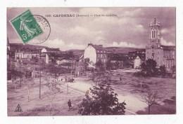 Carte Postale   Capdenac Place Du 14 Juillet - Autres Communes