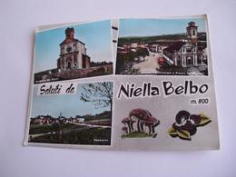 Cuneo - Saluti Da Niella Belbo M. 800 + Funghi - Cuneo