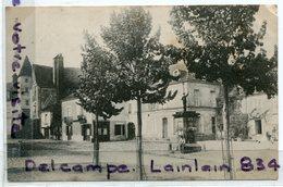 BAUGE - ( Maine Et Loire ), Place Saint-Laurent, Statue,  écrite, BE, Scans. - Autres Communes