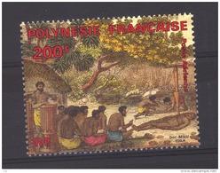 Polynésie  :  Yv  184  **  Timbre Du Bloc 10 - Neufs