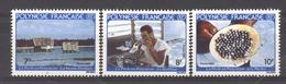 Polynésie  -  1982  :  Yv  177-79  ** - Neufs
