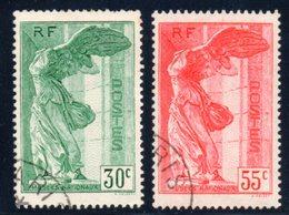 Paire SAMOTHRACE Obl N° 354/355 - France