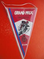 MOTOCROSS.MOTO CROSS.Flag.GRAND PRIX DALECIN.CSSR.FIM - Habillement, Souvenirs & Autres