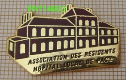 ASSOCIATION DES RESIDENTS HOPITAL LOCAL DE PACY Sur EURE Dpt 27 En Version EGF - Associations