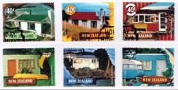 New Zealand 2002 Holiday Hideaways Set Of 6 Used - New Zealand