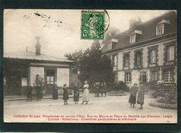 CPA - LAIGLE - Institution St Jean - Pensionnat De Jeunes Filles, Animé - L'Aigle