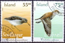 IJsland 2004 Vogels IV GB-USED. - 1944-... Republique